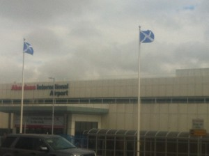 Aeropuerto de Aberdeen