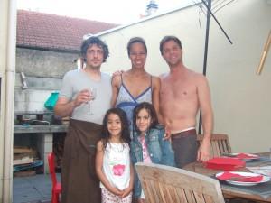 Con Anita y Oliver