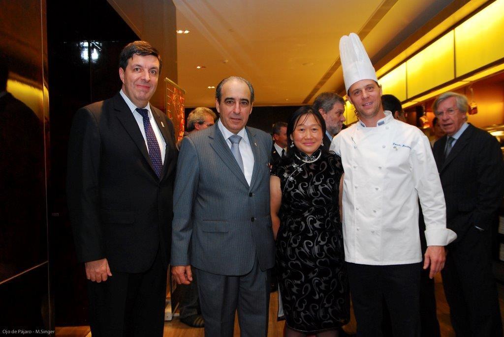 Consul Uruguay en Shanghai Beraldo Nicola