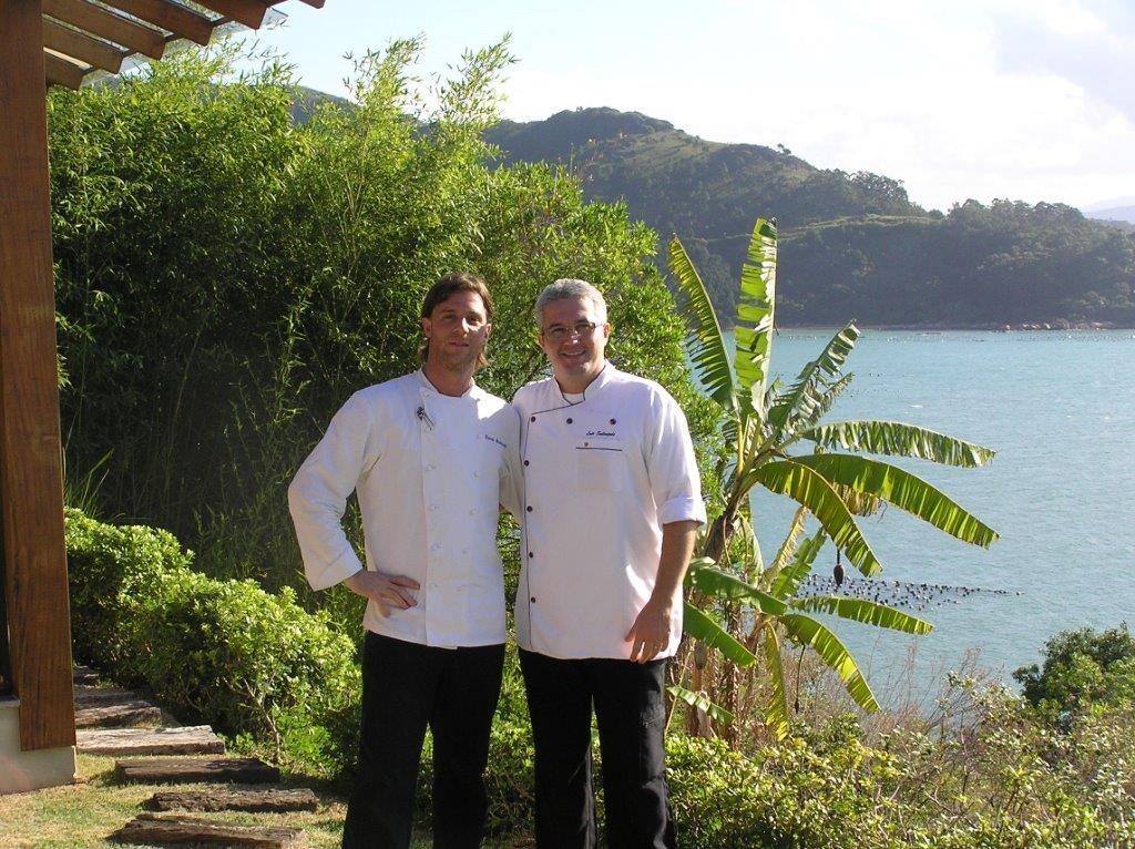 Foto con el Chef del Hotel