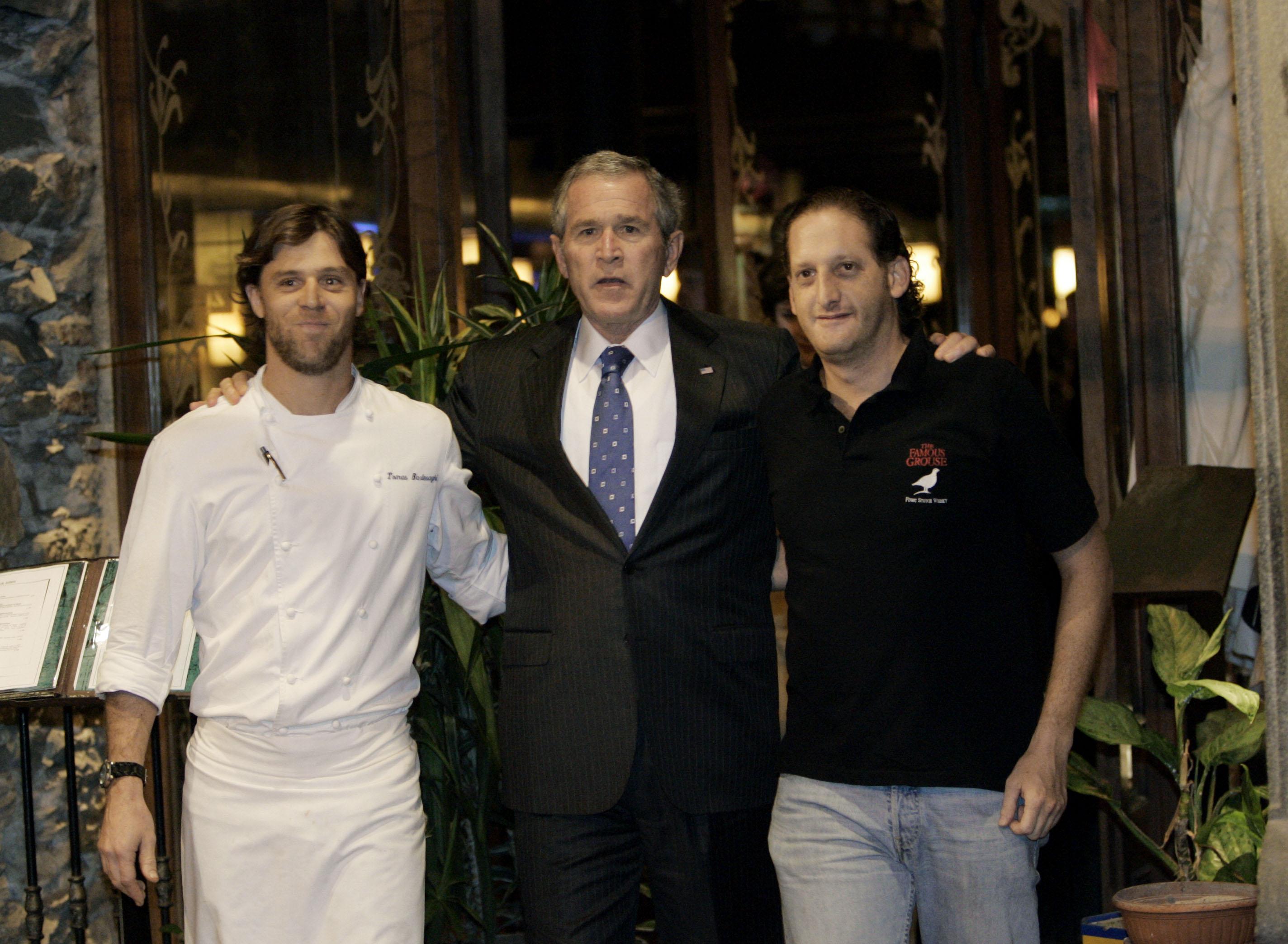Cena con un presidente