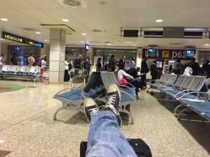 Espera en Madrid